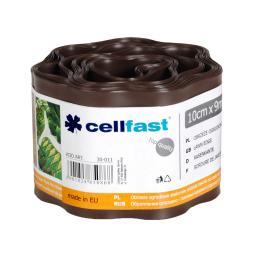Cellfast Obrzeże ogrodowe brąz 10cm x 9m (30-011)