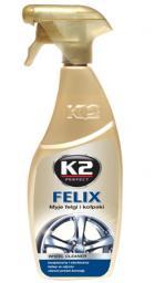 K2 Płyn do mycia felg i kołpaków K2 FELIX 700ml