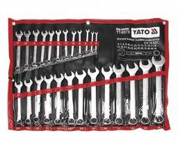 Yato Zestaw kluczy płasko-oczkowych 6-32mm 25szt. (YT-0075)