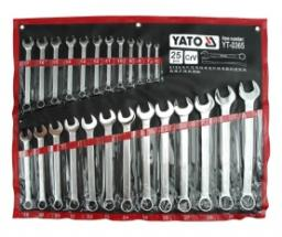Yato Zestaw kluczy płasko-oczkowych 6-32mm 25szt. (YT-0365)