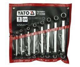 Yato Zestaw kluczy oczkowych odgiętych 6-22mm 8szt. (YT-0396)
