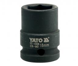 "Yato Nasadka udarowa 6-kątna 1/2"" 18mm (YT-1008)"