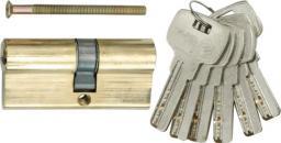 Vorel Wkładka asymetryczna mosiężnych 67mm 6 kluczy 31/36mm 77191