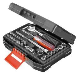 """Black&Decker Zestaw kluczy nasadowych 1/4"""" 31szt. (A7142)"""