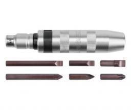 Yato Wkrętak udarowy metalowy z wymiennymi końcówkami 6szt. (YT-2801)