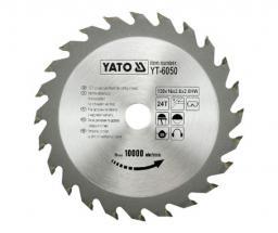 Yato Piła tarczowa do drewna 130x16mm 24z YT-6050