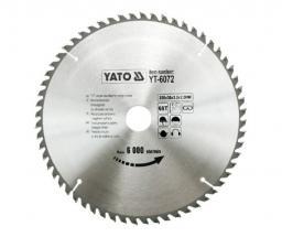 Yato Piła tarczowa do drewna 250x30mm 60z YT-6072