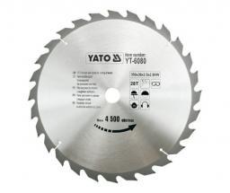 Yato Piła tarczowa do drewna 350x30mm 28z YT-6080
