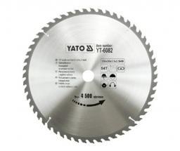 Yato Piła tarczowa do drewna 350x30mm 54z YT-6082