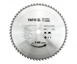 Yato Piła tarczowa do drewna 400x30mm 60z (YT-6086)