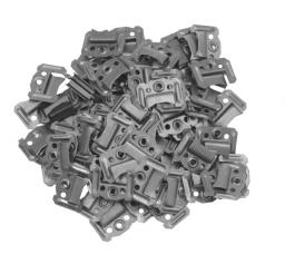 Vorel Klamry do paneli ściennych C-1mm 100szt. 04721