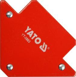 Yato Spawalniczy kątownik magnetyczny 82x120x13mm 11,5kg (YT-0863)