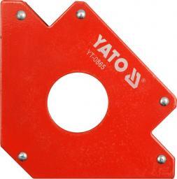 Yato Spawalniczy kątownik magnetyczny 122x190x25mm 34kg (YT-0865)