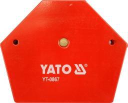 Yato Spawalniczy kątownik magnetyczny 111x136x24mm 34kg (YT-0867)