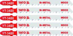 Yato Brzeszczot do wyrzynarki typ T bi-metal do drewna 5cz. TPI6 YT-3400