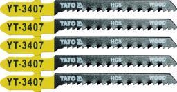 Yato Brzeszczot do wyrzynarki typ T HCS do drewna 5cz. TPI13 (YT-3407)