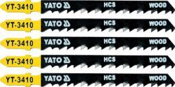Yato Brzeszczot do wyrzynarki typ T HCS do drewna 5cz. TPI6 (YT-3410)