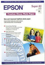 Epson Papier Foto Premium Glossy A3+ (C13S041316) błyszczący |20 ark
