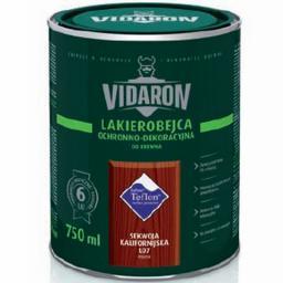VIDARON Lakierobejca ochronno-dekoracyjna sekwoja kalifornijska 0,4L