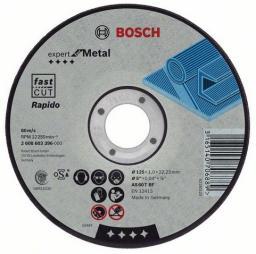 Bosch Tarcza tnąca prosta Expert for Metal 125x2,5x22,2mm (2.608.600.394)