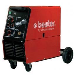 BESTER Półautomat spawalniczy Magster 220 + uchwyt spawalniczy LG250G/3 B18216-1
