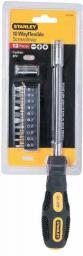 Stanley Wkrętak wielofunkcyjny elastyczny + 10 końcówek 62-508