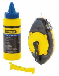 Stanley Sznur traserski POWERWINDER 30m + kreda 115g + poziomica sznurkowa 47-465