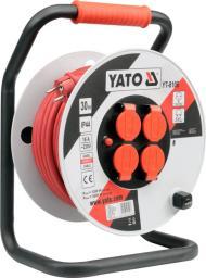 Yato Przedłużacz bębnowy plastikowy 50m przewód 3x2,5mm2 (YT-8108)