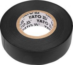 Yato Taśma elektroizolacyjna 19mm x 0,13mm 20m czarna (YT-8165)