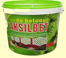AKSIL AKSILBET - FARBA DO BETONU zielony khaki 1L (106085)