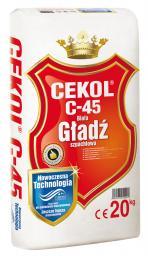 Cekol Gładź szpachlowa gipsowa biała CEKOL C-45 1kg