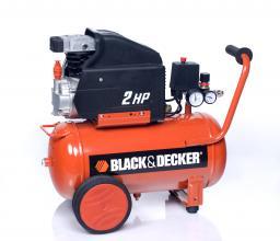 Sprężarka tłokowa Black&Decker 8bar 24L (CP2525S)