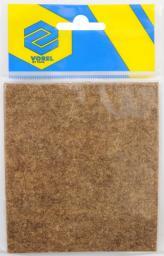 Vorel Podkładka filcowa brązowa 100x120mm (74869)