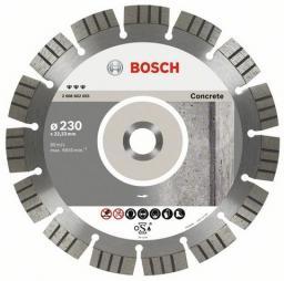 Bosch Tarcza tnąca diamentowa Best for Concrete 230x22x2,4mm 2608602655