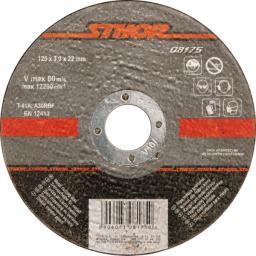 STHOR Tarcza do cięcia metalu 125x22x1,0mm (08171)