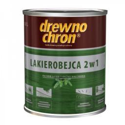 Drewnochron Lakierobejca 2w1 orzech ciemny 0,8L
