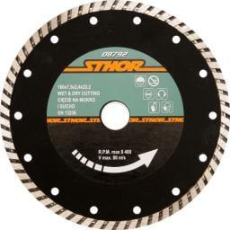 STHOR Tarcza diamentowa turbo 125mm (08791)