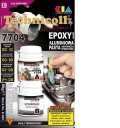 Technicqll Pasta epoksydowa aluminiowa Super Metal 4 7704 80g (E-020)