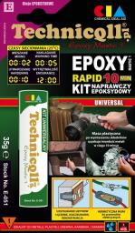 Technicqll Kit epoksydowy uniwersalny Epoxy Mastic Rapid 35g E-051