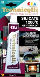 Technicqll Klej termiczny Silicate 1200°C 70ml (R-457)
