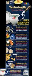 Technicqll Klej sekundowy cyjanoakrylowy DISPLEY 2g C-204