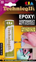 Technicqll Kit naprawczy epoksydowy gospodarczy 35g na blistrze E-181