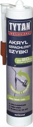 Tytan Silikon akryl szpachlowy szybki biały 310ml