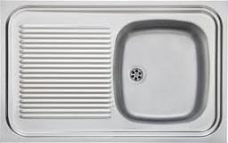 Franke Zlewozmywak Sara SXN 711 Eco 1-komorowy z ociekaczem 80x50cm stal jedwab (103.0205.153)