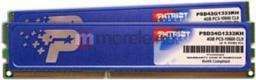 Pamięć Patriot Signature, DDR3, 4 GB,1333MHz, CL9 (PSD34G1333KH)