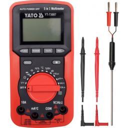 Yato Miernik elektryczny multimetr 5w1 (YT-73087)
