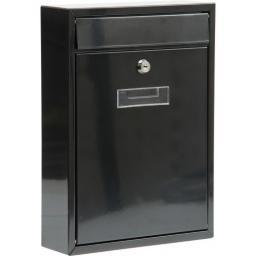 Vorel Skrzynka na listy 360x260x80mm czarna (78555)