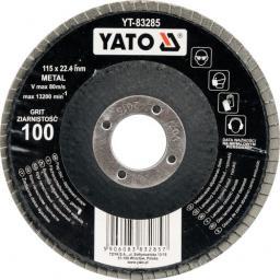 Yato Ściernica listkowa wypukła P100  115mm YT-83285