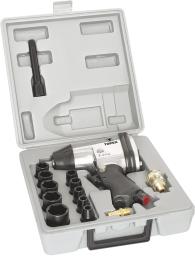 Topex Klucz udarowy pneumatyczny 1/2 + nasadka - 74L002