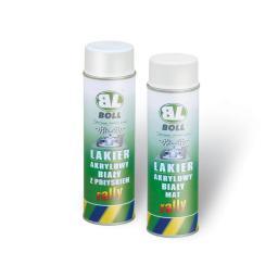 BOLL RALLY Lakier akrylowy biały matowy 0,5L
